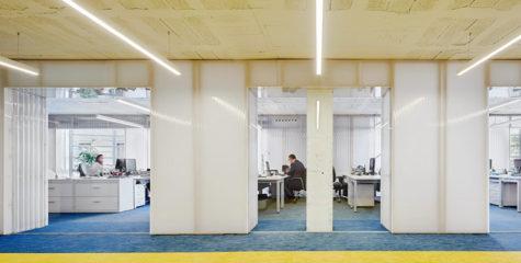 Interior Fundación Princesa Girona